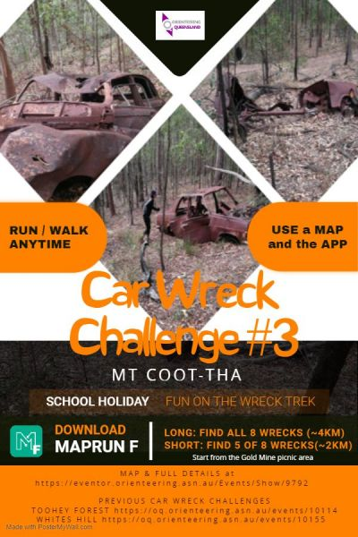 Car Wreck Challenge #3 - Mt Coot-Tha